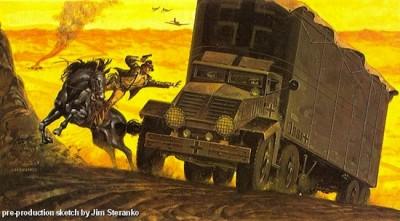 Jim Steranko, Steven Spielberg, dessin
